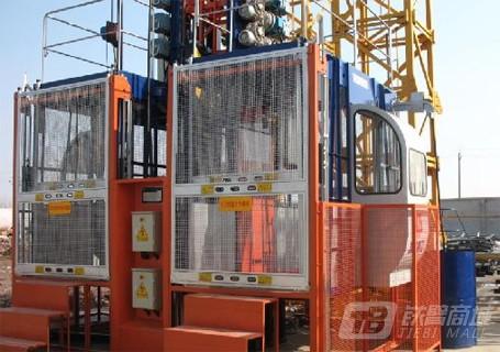 鸿达重工SC200 /200施工升降机