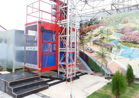 海山SC100C施工升降机