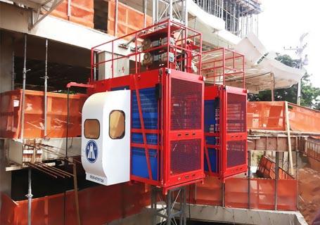 海山SC200/200施工升降机