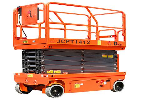 浙江鼎力JCPT1412HD自行走剪叉式高空作业平台(液压马达驱动)