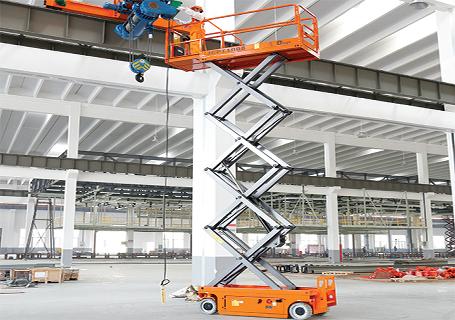 浙江鼎力JCPT1008DC自行走剪叉式高空作业平台(直流电