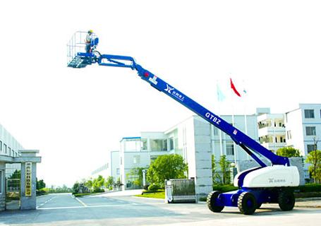 运想GTBZ16Z直臂式高空作业平台