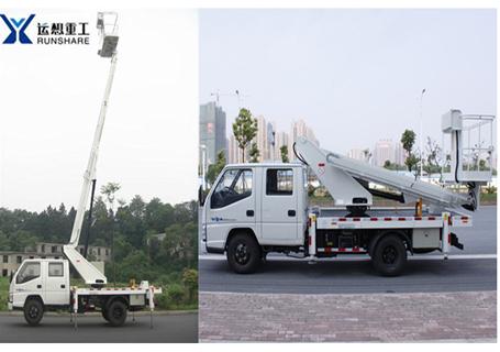运想GKS16直臂车载式高空作业车