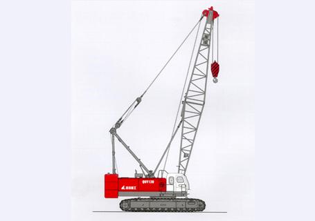 抚挖QUY70A履带式起重机