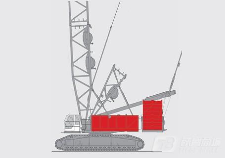 抚挖重工QUY500履带式起重机