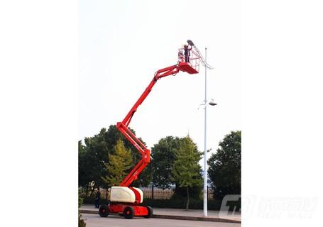 运想GTZZ18D电动曲臂式高空作业平台