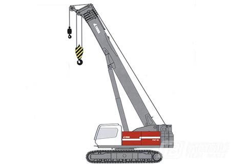 抚挖FWT65液压伸缩臂式起重机