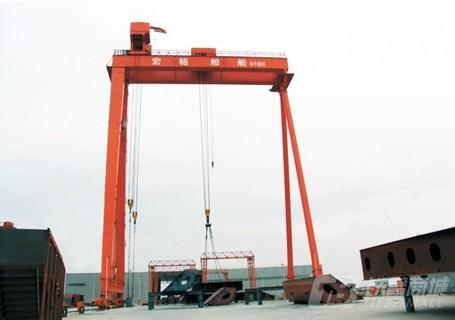 华中MUHZ(60×2+20)造船专用龙门吊