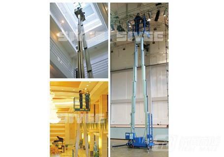 赛奇标准型双桅柱高空作业平台高空作业车/平台