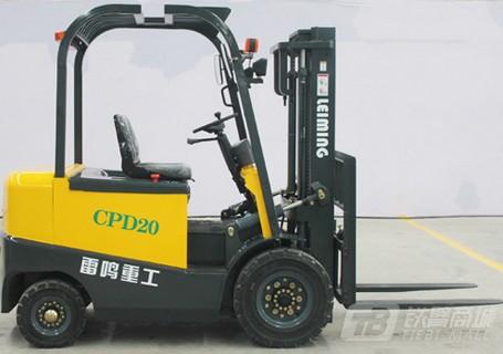 雷鸣重工CPD20电动叉车图片