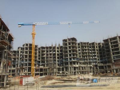 广西建机TCT60121.8截面平头塔吊