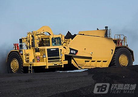 卡特彼勒657G煤斗铲运机