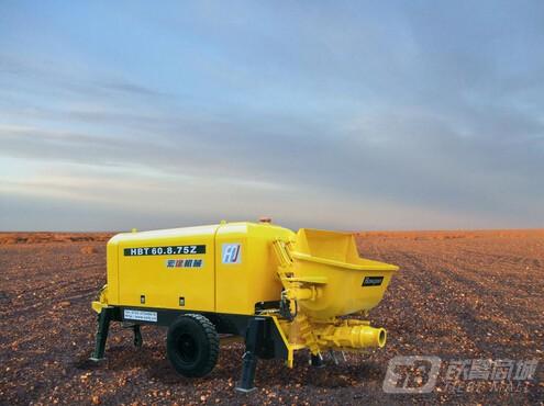 宏建机械HBT60.8.75Z混凝土输送泵
