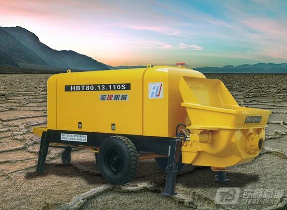 宏建机械HBT80.13.110混凝土输送泵