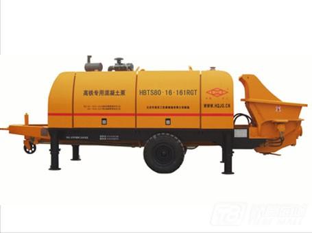 华强京工HBT80.16.161RGT输送泵图片