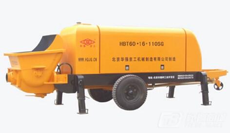 华强京工HBT60.16.110 SG输送泵