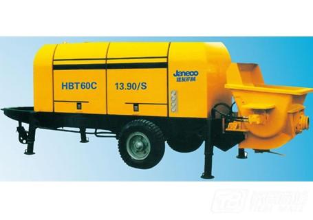 建友机械HBT60C拖泵