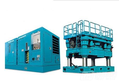 盾安重工DTR2605H全套管全回转钻机图片