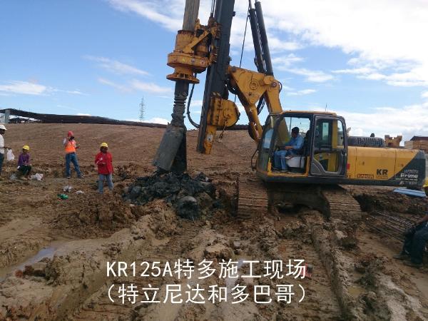 泰信机械KR125A(国产底盘)旋挖钻机外观图6