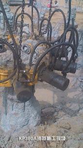 泰信机械KP380A截桩机/破桩机外观图2
