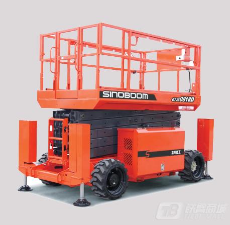 星邦重工GTJZ0818D剪叉式高空作业平台