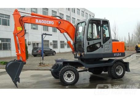 宝鼎WYL65-8轮式挖掘机