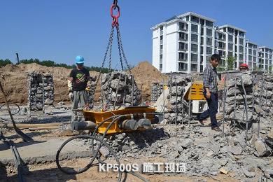 泰信机械KPS37截桩机泵站外观图2