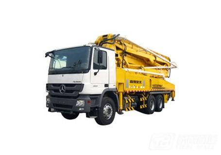 山推47m混凝土臂架泵车