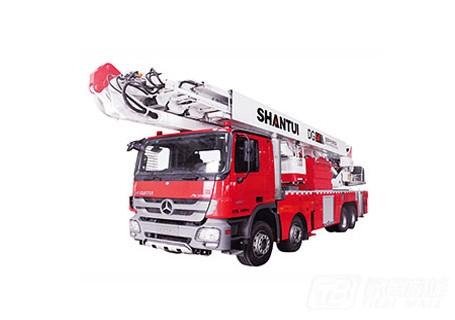 山推DG54登高平台消防车