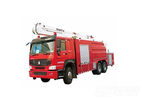 山推JP20消防车