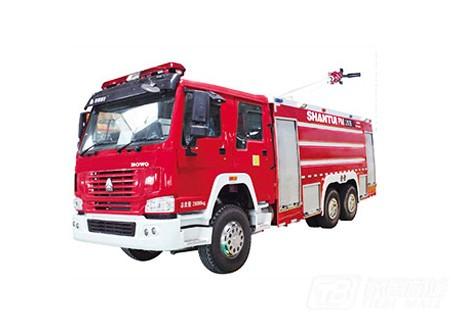 山推PM/SG180B消防车