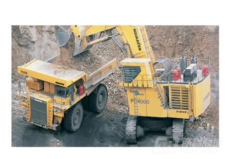 小松PC4000-6正铲挖掘机