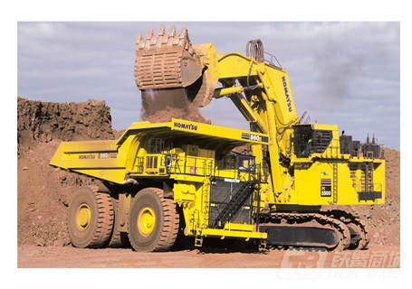 小松PC5500-6正铲挖掘机