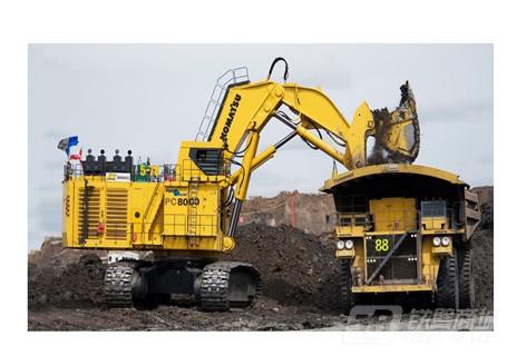 小松PC8000-6正铲挖掘机