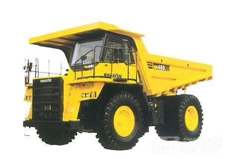 小松HD465-7非公路矿用自卸卡车