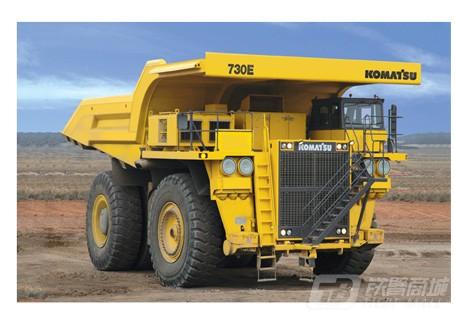 小松730E非公路矿用自卸卡车