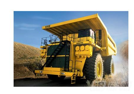 小松930E-4SE非公路矿用自卸卡车