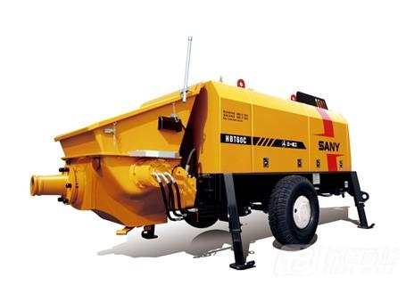 三一HBT6016C-5 60系列拖泵