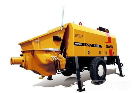 三一HBT8018C-5 80系列拖泵