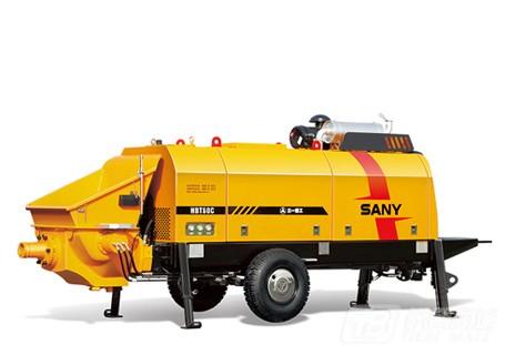 三一HBT8018C-5D柴油机混凝土拖泵