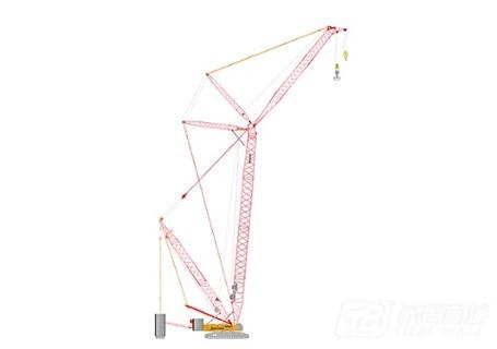 三一SCC5000A常规吊装系列履带起重机