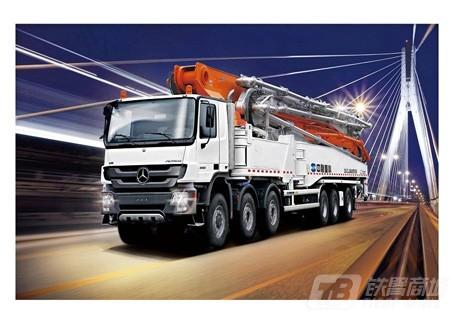 中联重科ZLJ5650THBB 80-7RZ混凝土泵车