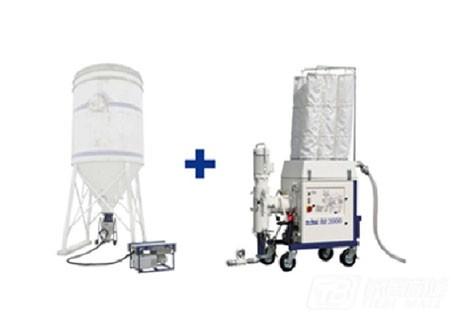 中联重科22方散装筒仓+G140气力输送+Duom干粉/砂浆生