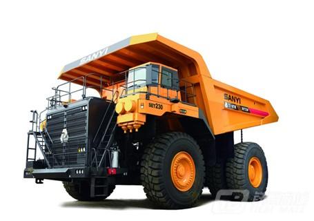 三一SET230电驱动矿用自卸车