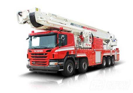 中联重科ZLJ5500JXFDG70多功能登高平台消防车