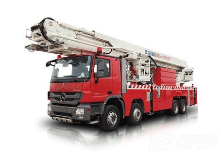 中联重科ZLJ5400JXFDG54登高平台消防车
