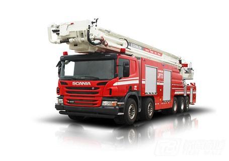 中联重科ZLJ5510JXFJP72举高喷射消防车