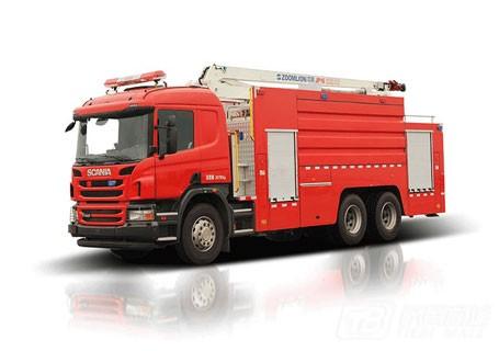 中联重科ZLJ5301JXFJP16举高喷射消防车