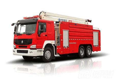 中联重科ZLJ5320JXFJP18举高喷射消防车