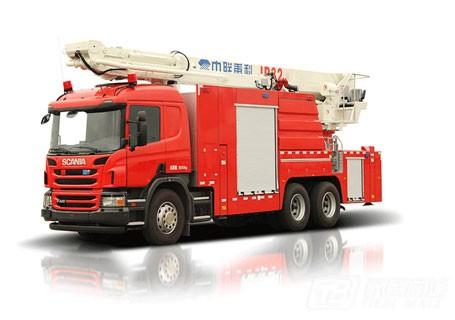 中联重科ZLJ5306JXFJP32举高喷射消防车